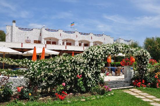 Hotel Portofina: vista dal prato