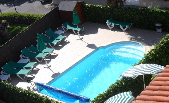 Hotel Le Belvedere: Vue du balcon de la chambre
