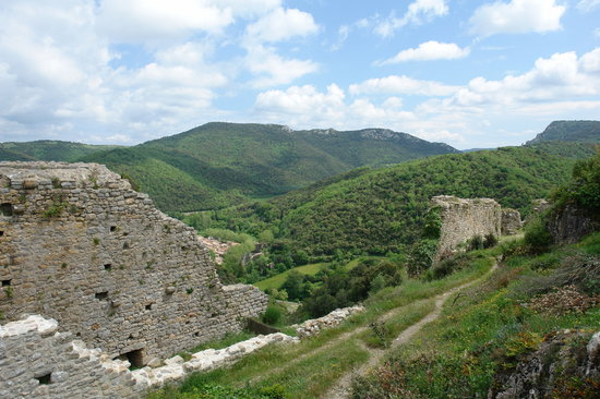 Chateau de Termes : Panorama