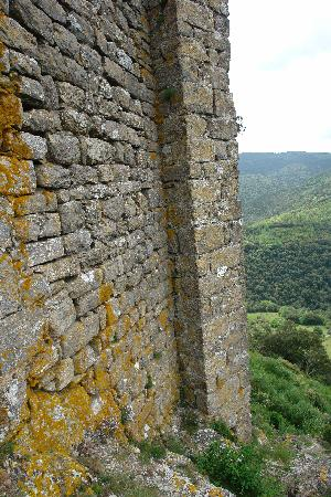 Chateau de Termes : Buttress to the world outside