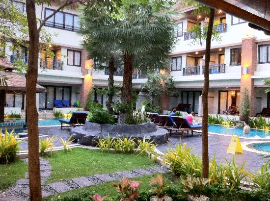 P. P. Palm Tree Resort: great place & quiet