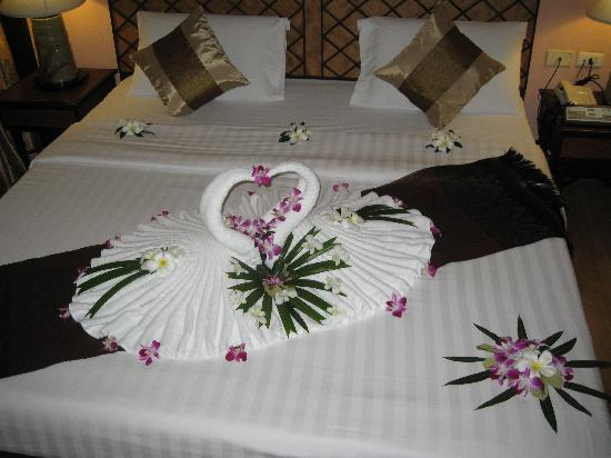 P. P. Palm Tree Resort: Nice surprise when we arrived