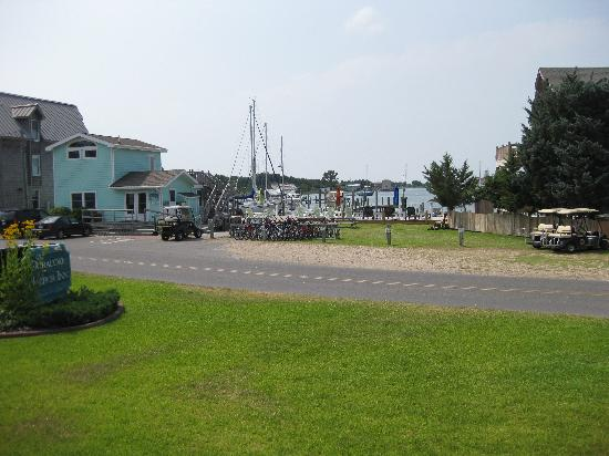 Ocracoke Harbor Inn: View from the room we were in  - 101