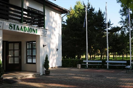 Hotel Staadioni: Entrance