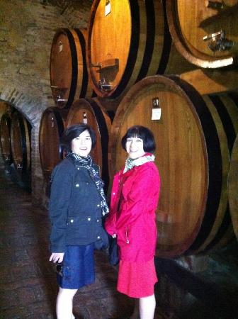 Monteriggioni, Italië: the Birthday Girls
