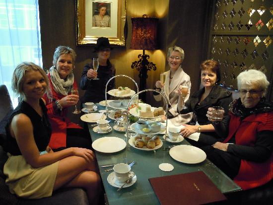 The Langham, Melbourne: High-Tea for the Matriach!