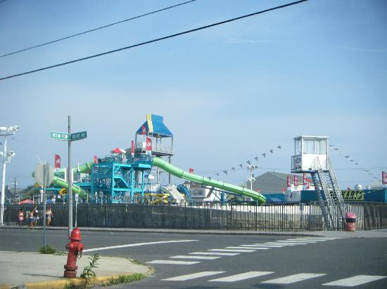Seaside Heights, Nueva Jersey: breakwater beach