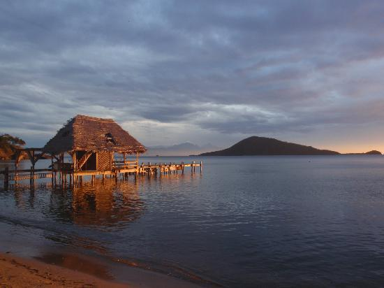 Plantation Beach Resort : Chilling at sunset