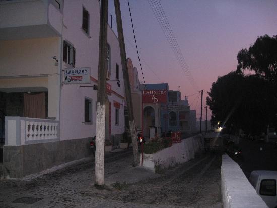 Hotel Lignos: outside the hotel
