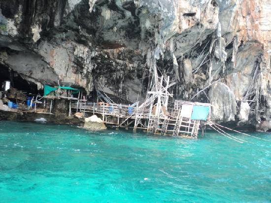 Patong, Thailand: caves on the islands