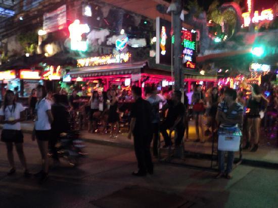 باتونج, تايلاند: bangala rd