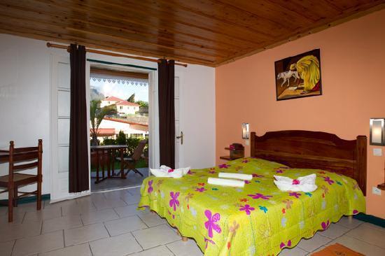 Cilaos, Reunion: notre chambre