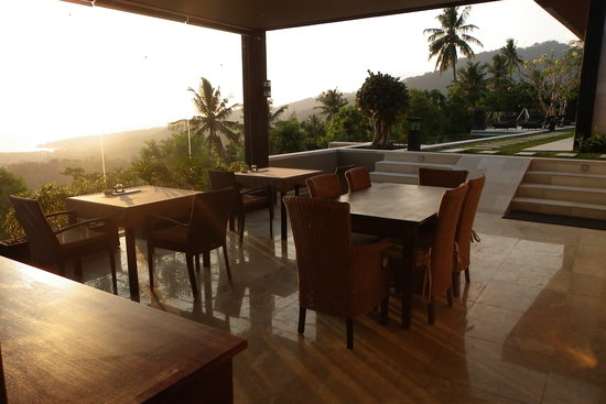 The Puncak: Restaurant good for tastes & views