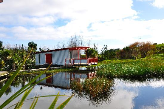 Wai Hou Oma Lodge: The lake
