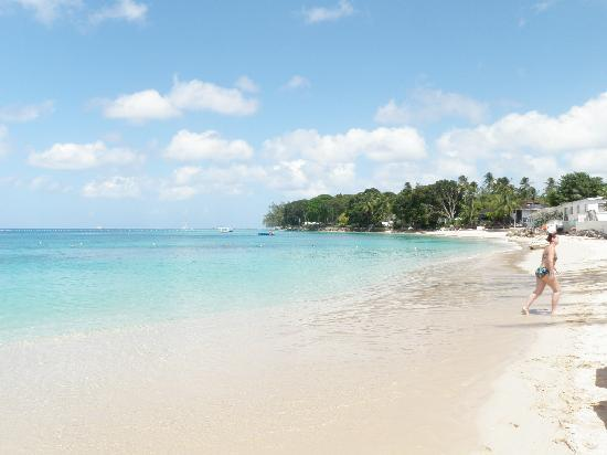 Holetown, Barbados: The beach