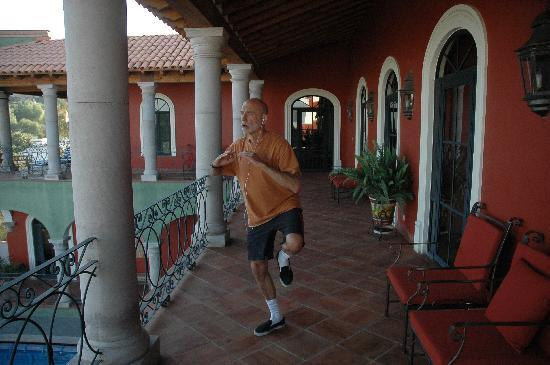 Casa Don Pascual: lots of space for morning tai chi