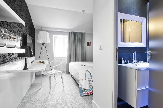 La Monnaie Art & Spa Hotel Luxe: Entrée de la chambre Exclusive