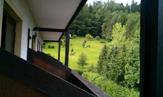 Das Steinberger Event & Seminar Hotel Alttlengbach: (west side - I think) balcony view
