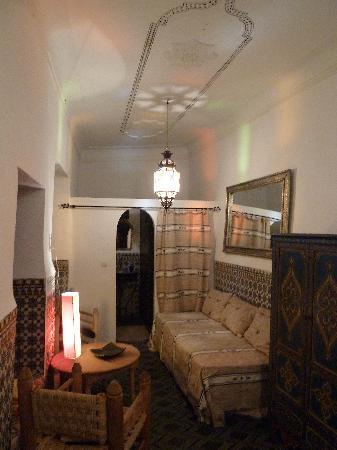 Riad Dar Tiflet: chambre RDC dartiflette