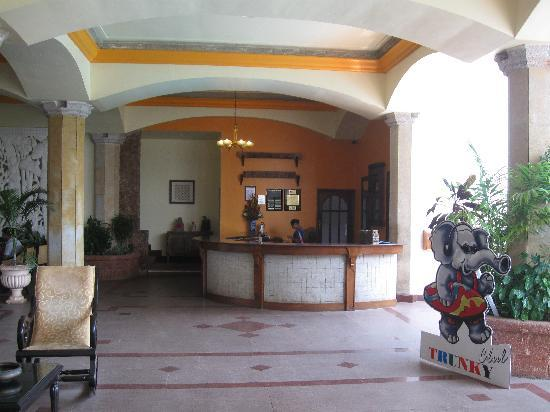 Karma Royal Benaulim: Entrance (from inside)