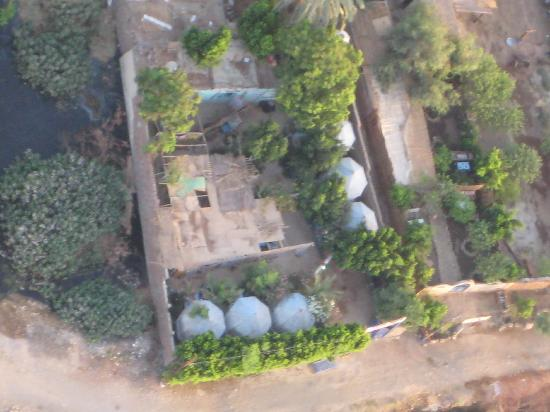 Al Salam Camp: Camp from the HotAir balloon