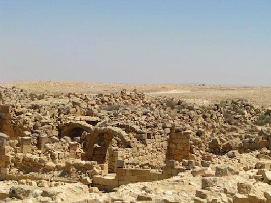 Abboud Tours: An ancient's city ruins in the Negev