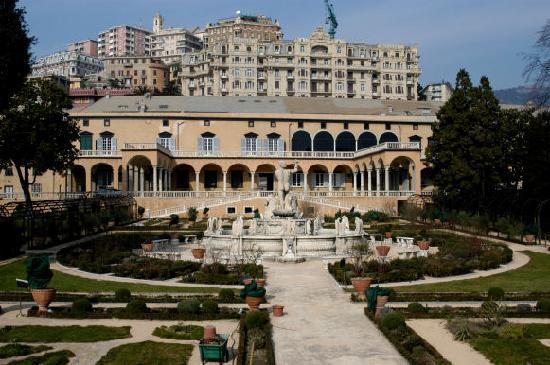 Villa del Principe : Palazzo e giardino