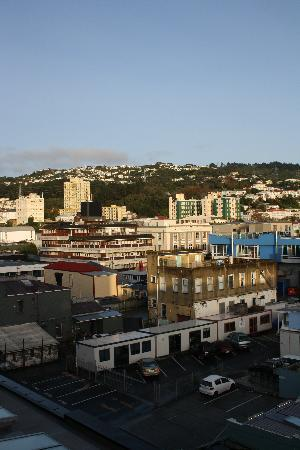 Quality Hotel Wellington: City views from room
