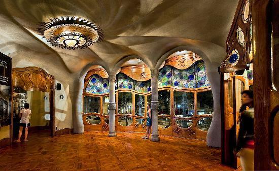 Casa Batllo: Planta noble de la Casa Batlló