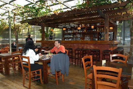 A Little House in Bakah : Kosher breakfast in Polly restaurant