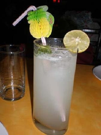 Chic Fish : Even the lemon soda looks cute!