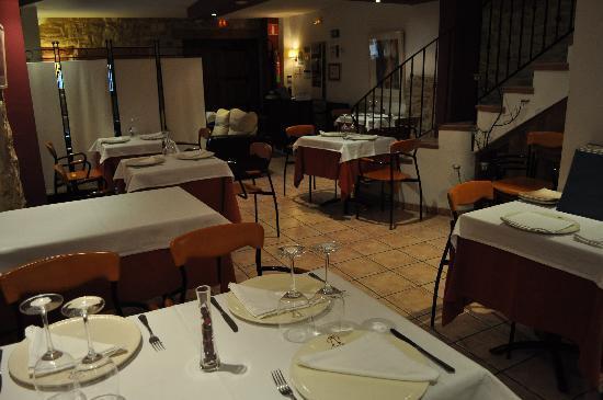 La Alqueria Hotel : Comedor del restaurante de La Alqueria