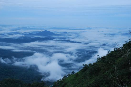 Kalpetta, India: Rare scene in the ghat section of Wayanad