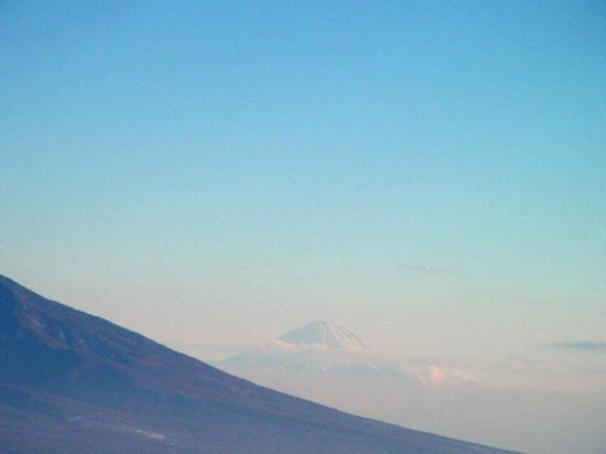 Chino, Japan: 山頂からの富士山
