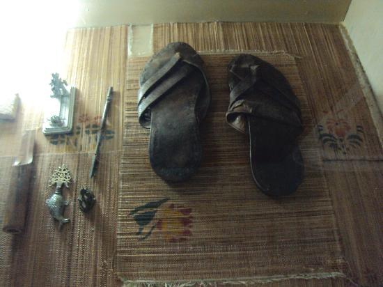 Aga Khan Palace: gandhiji's belongings