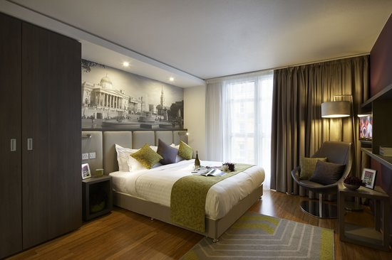 Citadines Trafalgar Square London: Our studios are very clean and spacious with a cooking area