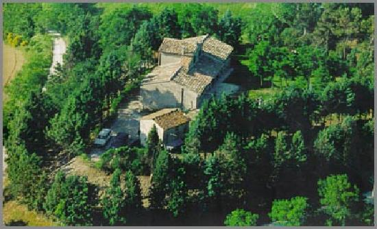 Villa Anjana : Top view