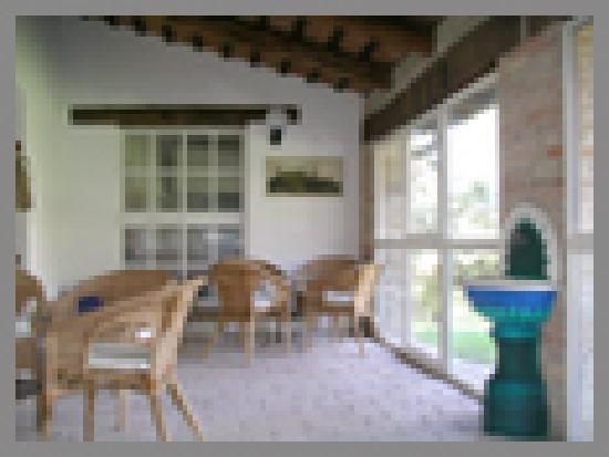 Villa Anjana: Veranda