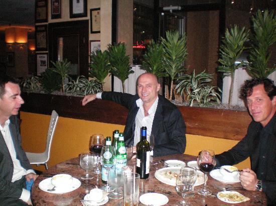 Mediterraneo Restaurant: Alberto, Daniel, and Alessandro.