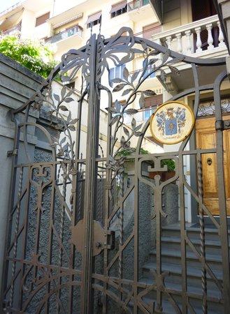 B&B Tarussio : Front entrance