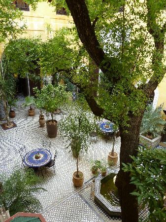 Riad Le Calife: Innenhof