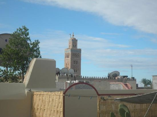 Riad Bel Haj: View from the Roof Terrace