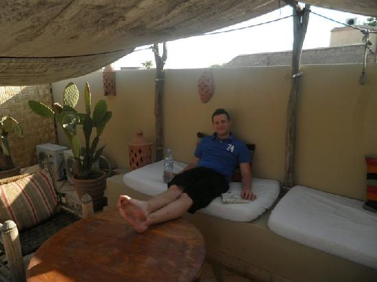 Riad Bel Haj: Chilling on the Roof Terrace