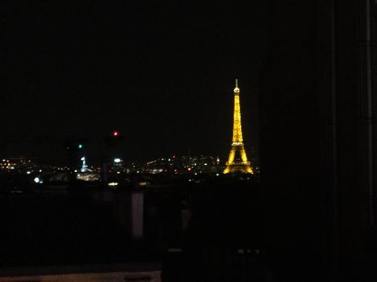 Hotel le Chat Noir: Aussicht vom 6. Stock