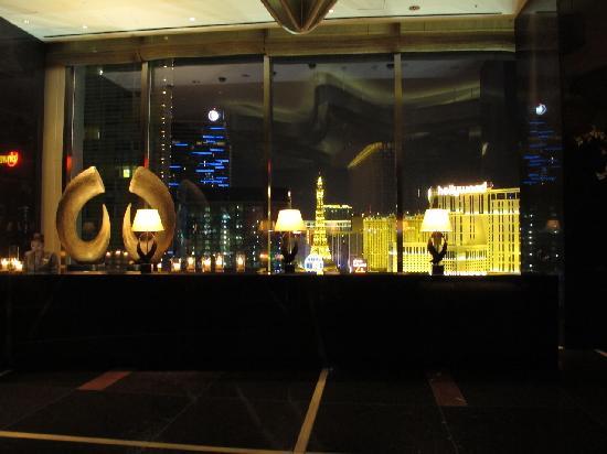 Mandarin Oriental, Las Vegas: reception during the night