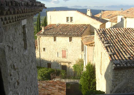 "Hotel Crillon le Brave : A view of your """"town"