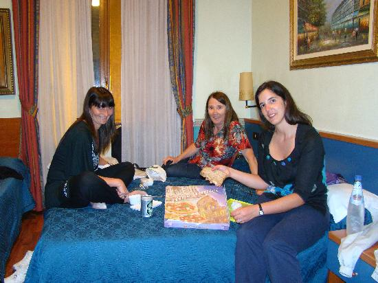 Bed & Breakfast Maggiore: cenando...