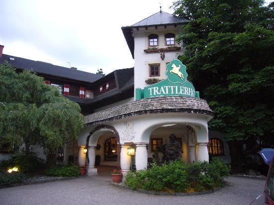 Hotel Trattlerhof: la facciata d'ingresso esterna