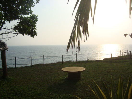Varkala Golden Beach Resort: yogaplace