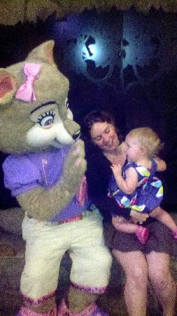Great Wolf Lodge: My daughter enjoying story time!
